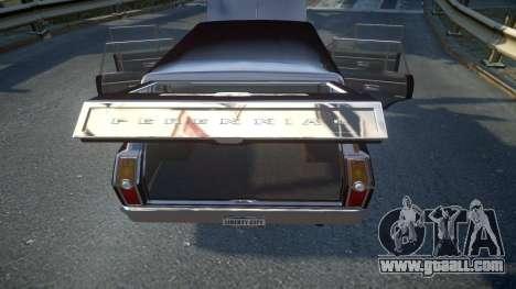 GTA III Perennial High Poly for GTA 4 upper view