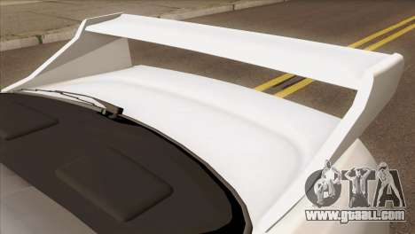 Nissan Skyline R33 Drift JDM for GTA San Andreas back view
