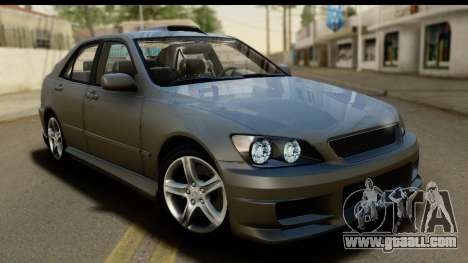 Lexus IS300 Tunable for GTA San Andreas upper view