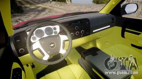 Chevrolet Silverado 1500 LT Extended Cab wheels1 for GTA 4 back view