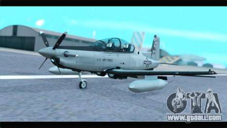 Beechcraft T-6 Texan II US Air Force 4 for GTA San Andreas