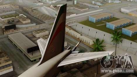 Boeing KC-767 Aeronautica Militare for GTA San Andreas back left view