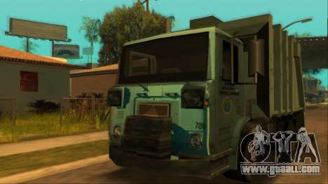 TDK Volvo Xpeditor Garbage for GTA San Andreas inner view