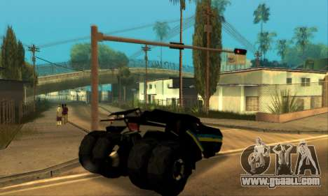 The Tumbler UA Style for GTA San Andreas right view
