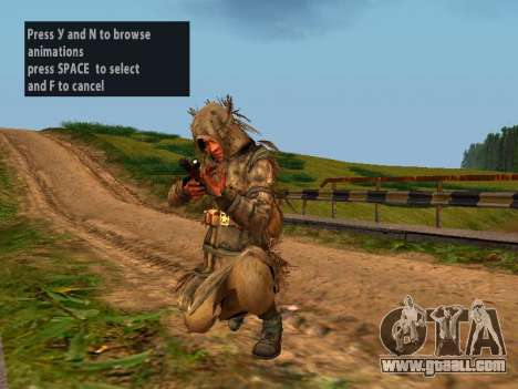Soviet Sniper for GTA San Andreas sixth screenshot