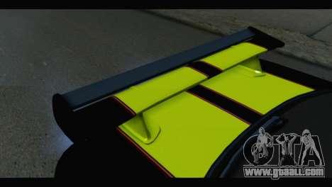 Nissan Skyline R34 BudMat for GTA San Andreas back view