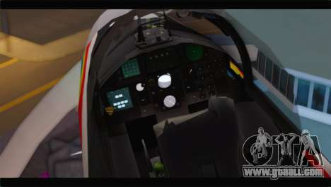 F-15J Hyakuri Air Base 30th Anniversary for GTA San Andreas back view
