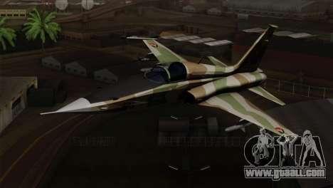 Northrop F-5 Estovakian Air Force for GTA San Andreas