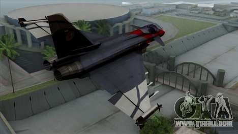 Eurofighter Typhoon 2000 for GTA San Andreas left view