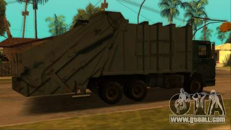 TDK Volvo Xpeditor Garbage for GTA San Andreas back view