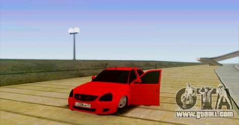 VAZ 2170 THE БПАN for GTA San Andreas