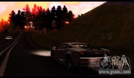 ENB J.F ProjeT 3.0 for GTA San Andreas sixth screenshot