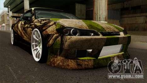 Nissan Silvia S15 Hunter for GTA San Andreas