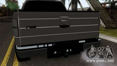 Ford F-150 4X4 Off Road for GTA San Andreas back view