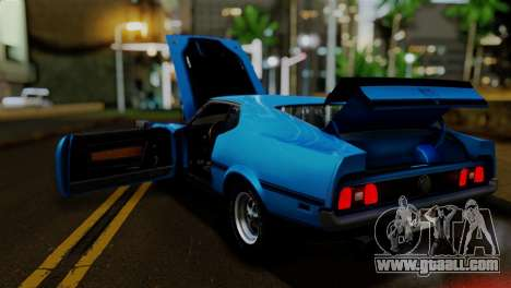 Ford Mustang Mach 1 429 Cobra Jet 1971 IVF АПП for GTA San Andreas side view