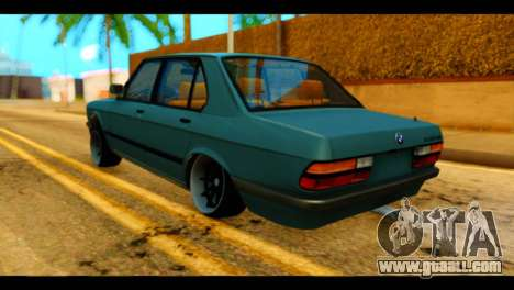 BMW 535is for GTA San Andreas left view