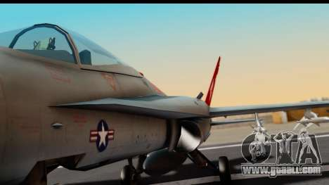 McDonnell Douglas FA-18C Hornet VMFA-232 USMC for GTA San Andreas inner view