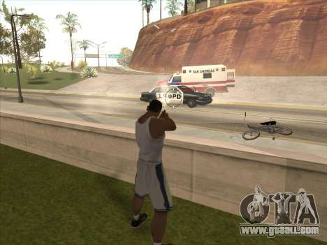 Great Russian guns for GTA San Andreas fifth screenshot
