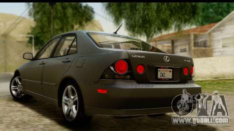 Lexus IS300 Tunable for GTA San Andreas left view