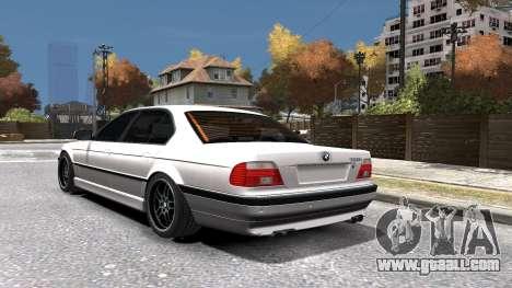 BMW 750i e38 1994 Final for GTA 4 bottom view