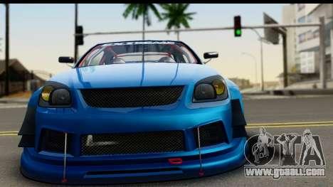 Chevrolet Cobalt SS Mio Itasha for GTA San Andreas back left view