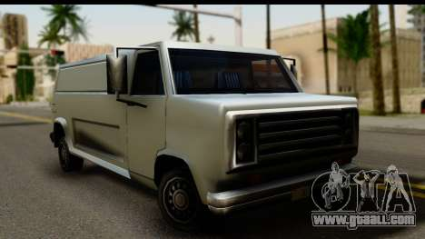 Burney Van for GTA San Andreas