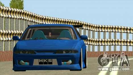 Nissan Silvia S14 Zenki for GTA San Andreas left view