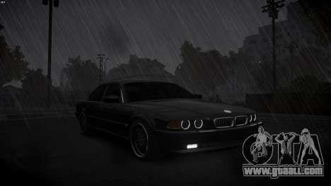 BMW 750i e38 1994 Final for GTA 4 inner view