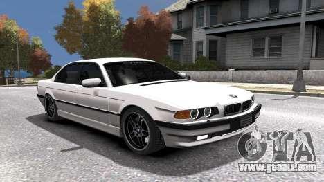 BMW 750i e38 1994 Final for GTA 4 engine