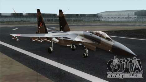 SU-37 Flanker-F Polish Air Force for GTA San Andreas