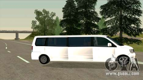 Mitsubishi EK Wagon Limo for GTA San Andreas left view