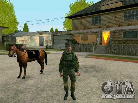 Kuban Cossack for GTA San Andreas