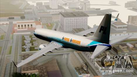 Boeing B737-800 Pilot Life Boeing Merge for GTA San Andreas left view