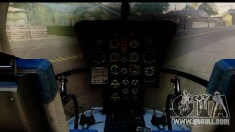 MBB Bo-105 Air Med for GTA San Andreas back view