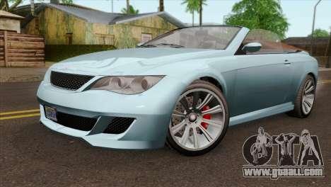GTA 5 Ubermacht Zion XS Cabrio IVF for GTA San Andreas