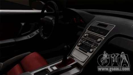 Honda NSX Police Car for GTA San Andreas right view