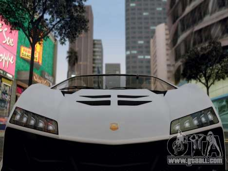 ENB for medium PC by WD for GTA San Andreas second screenshot