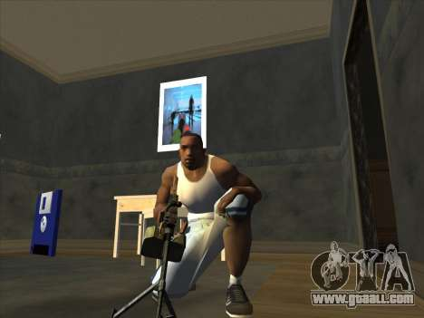 PCM from Battlefield 2 for GTA San Andreas forth screenshot