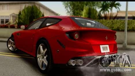 NFS Rivals Ferrari FF for GTA San Andreas left view