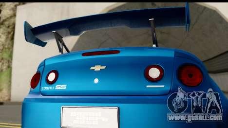 Chevrolet Cobalt SS Mio Itasha for GTA San Andreas right view