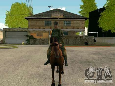 Kuban Cossack for GTA San Andreas forth screenshot