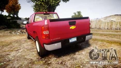 Chevrolet Silverado 1500 LT Extended Cab wheels1 for GTA 4 back left view