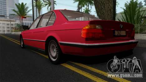 BMW 750iL E38 for GTA San Andreas left view