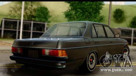 Mercedes-Benz 240 W123 Stance for GTA San Andreas left view