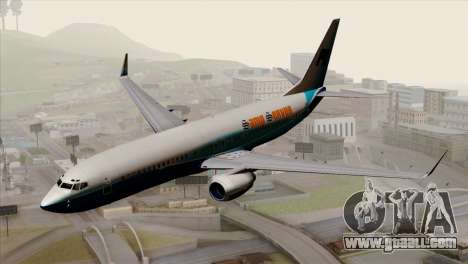 Boeing B737-800 Pilot Life Boeing Merge for GTA San Andreas
