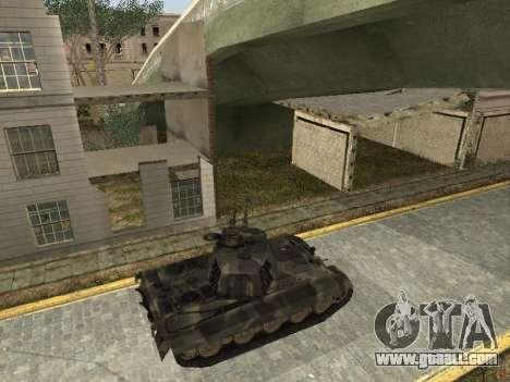 Panzerkampfwagen Tiger II for GTA San Andreas right view