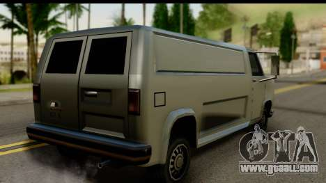 Burney Van for GTA San Andreas left view
