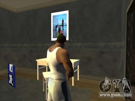 PCM from Battlefield 2 for GTA San Andreas fifth screenshot