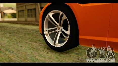 Lamborghini Estoque for GTA San Andreas back left view