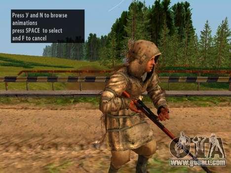 Soviet Sniper for GTA San Andreas tenth screenshot
